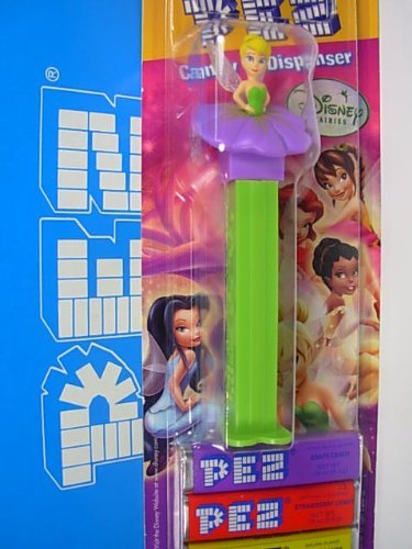 tinkerbell-pez-on-blister-card-and-refill-by-pez-candy