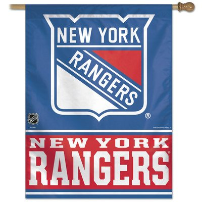 Nfl Banner Flag Team: New York Rangers front-94777