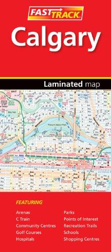 Calgary, Alberta - Fast Track - laminated map (Rand McNally Easy to Fold!)