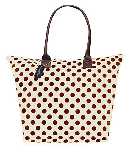 Peach Couture KENDALL Delux Fun Print Large Tote Versatile Beach Bag Purse Handbag Shoulder Bag