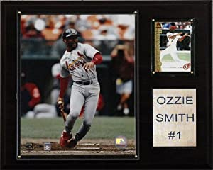 MLB Ozzie Smith St. Louis Cardinals Player Plaque by C&I Collectables