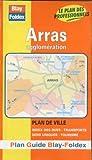 echange, troc Plans Blay Foldex - Plan de ville : Arras (avec un index)
