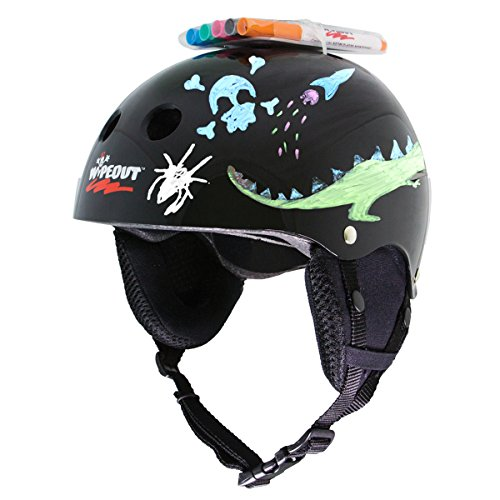Wipeout Youth Dry Erase Winter Snow Helmet