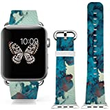 3C-LIFE Iwatch Cute Lovely Band For Apple Watch Sport 38mm Space Aluminum Case With White Sport Band St.patrick... - B01BTR98IW