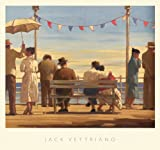 The Pier by Jack Vettriano Art Print Poster