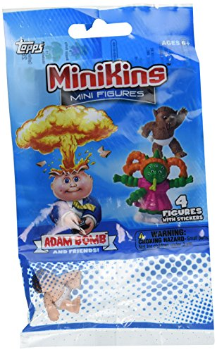 Garbage Pail Minikin Mini Figures Value Pack/Jumbo (4-Pack) Styles may vary - 1