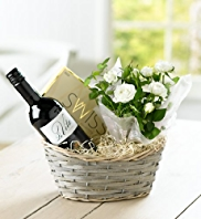 Red Wine & Rose Hamper