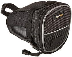 AmazonBasics Cycling Strap-On Wedge Saddle Bag, Medium