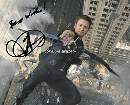 limited-edition-jeremy-renner-hawkeye-signed-photo-cert-printed-autograph-signature-signed-signiert-