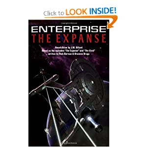 The Star Trek: Enterprise: The Expanse by J.M. Dillard