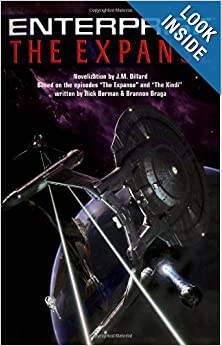 The Star Trek: Enterprise: The Expanse by J. M. Dillard