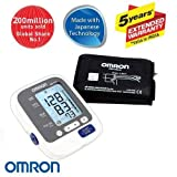 Omron Hem-7132 Blood Pressure Monitor (Color: White, Tamaño: Medium)