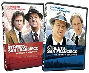 Streets of San Francisco: Season 4, Vols. 1 & 2