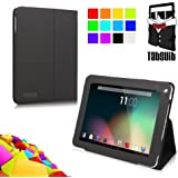 TabSuit Folio Cover Case with Multi-angle Stand for Dragon Touch Elite R97 Tablet