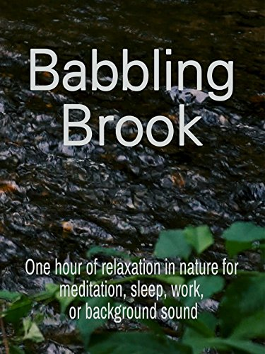 Babbling Brook: One hour of relaxation in nature for meditation, sleep, work, or background sound