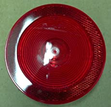 Truck-Lite 40215R Model 40 Red Stop/Turn/Tail & Front/Park/Turn 4'' Sealed Reflectorized
