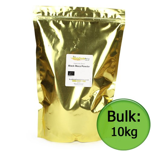 Organic Black Maca Powder 10kg Bulk