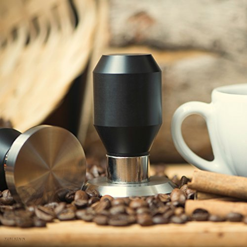 Premium Quality Coffee Espresso Tamper 100% Stainless Steel Base (55mm) (55mm Tamper compare prices)