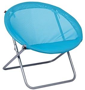 Lafuma collapsible chair mini ring with batyline fun cover blu - Fauteuil ring lafuma ...