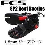 FCS / エフシーエス SP2 1.5mm リーフブーツ Reef Booties サーフィン用 9(27cm)