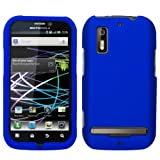 Cbus Wireless Blue Silicone Case / Skin / Cover for Motorola Photon 4G / MB855 / Electrify