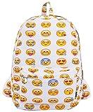 Coofit Cute Emoji Backpack for Kids Cool Backpack Purse Book Bag School Bag...