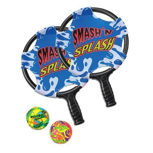 [해외]olmaster에 의해 Poolmaster 72,717 스매쉬 'n'을 스플래쉬 패들 볼 게임/Poolmaster 72717 Smash `n` Splash Paddle Ball Game by Poolma