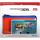 3DS Protector and Pouch Set (Super Mario 3D Land version) - Nintendo 3DS Standard Edition