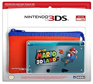 HORI 3DS Protector and Pouch Set (Super Mario 3D Land version)