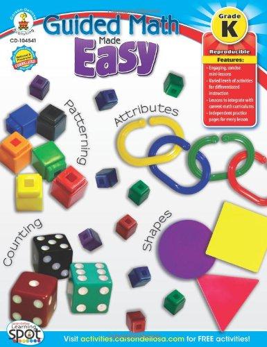 Guided Math Made Easy, Grade K
