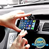 Minisuit Mini Grip Car Vent Mount for iPhone 6 5 4 3, Galaxy S5 S3 S2, Note 3 2 1, HTC, Motorola, Nokia, Sony