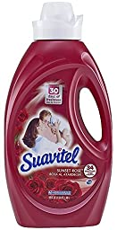 Suavitel 139016 Sunset Rose Fabric Softener, 50 fl oz Bottle (Pack of 6)