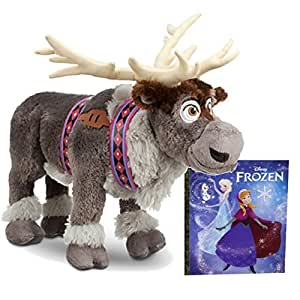Disney Frozen Sven Medium Plush, Frozen Book