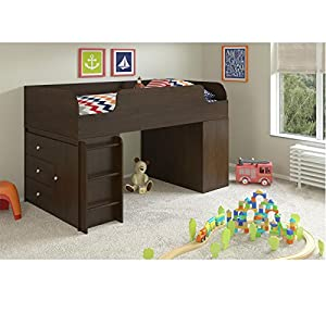 Cosco Products Elements Loft Bed