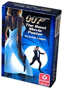 James Bond Poster Poker Size Playing Cards, Single Deck
