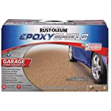 Rust-Oleum 261846 50 Voc - 2.5 Car Epoxy Shield Garage Floor Kit, Tan