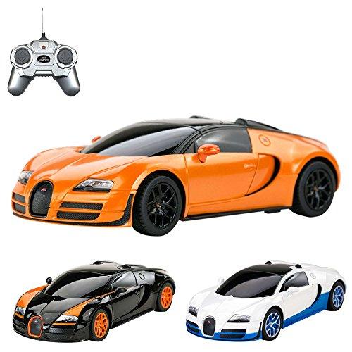 Bugatti-Veyron-164-Grand-Sport-Vitesse-RC-ferngesteuertes-Lizenz-Fahrzeug-im-Original-Design-Modell-Mastab-124-Ready-to-Drive-Auto-inkl-Fernsteuerung