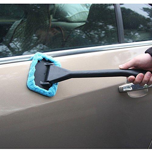 KKmoon-Nuova-Microfibra-Auto-Pulitore-di-Finestra-Parabrezza-Veloce-Facile-Brillare-Pennello-A-Mano-Lavabile-Strumento-per-Pulizia