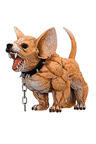 New-Chihuahua-Dog-Xtreme-Figurine-Bodybuilding-Weightlifting-Collectible-Statue