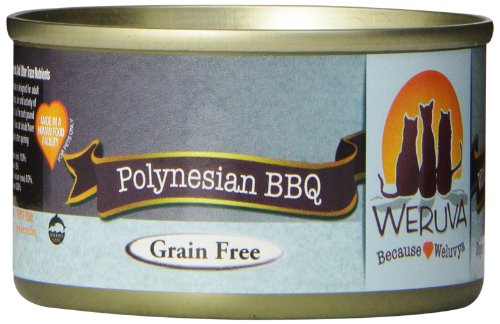 Weruva Cat Food, Polynesian Bbq, 3-Ounce Cans (Pack Of 24)