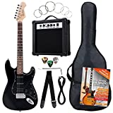 Rocktile Banger's Power Pack Komplettset E-Gitarre mit Single Coil und
