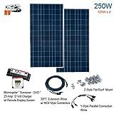 Solartech 250-Watt Complete RV Solar Panel Power Kit