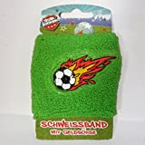 Cinta para el sudor de fútbol Star futbolín con monedero verde