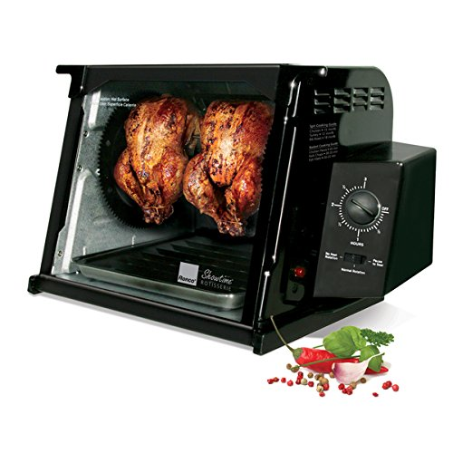 Ronco Black 4000 Series Rotisserie Precision Rotation Speed
