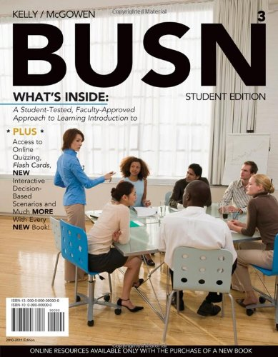BUSN 3 (with Review Cards and Introduction to Business CourseMate with eBook Printed Access Card) (Available Titles CourseMate) PDF