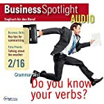 Business Spotlight Audio - Summarizing. 2/2016: Business Englisch lernen - Informationen zusammenfassen    div.