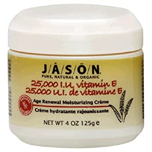 JASON NATURAL PRODUCTS Vit E Cream 25,000 IU 4 oz