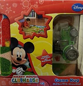 Disney Mickey Mouse ClubHouse Game Rug by Disney