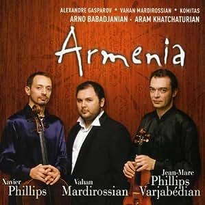 Armenia: Khatchaturian, Babadjanian, Gasparov, Mardirossian, Komitas (Chamber Works)