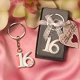Key Ring Sweet 16 Favors